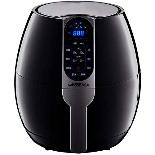 GoWISE USA 3.7-Quart Programmable Air Fryer with 8 Cook Presets (GW22638) Image