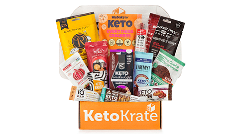 25% Off Your First Keto Krate