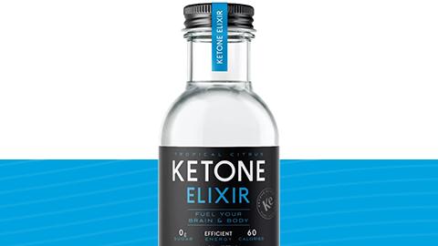 ketone elixir bottle