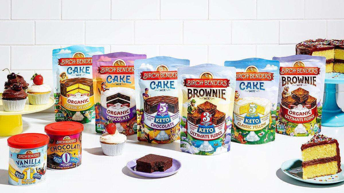 Birch Benders Keto Cake and brownie Mixes