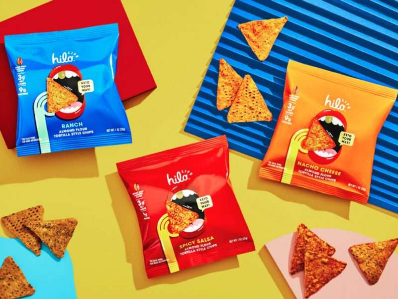 PepsiCo's Hilo Life Launches Keto-Friendly Almond Flour Tortilla Chips